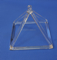 Quartz Crystal Singing Pyramid