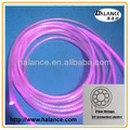fiber sparkle light with PVC side glow optical fibre