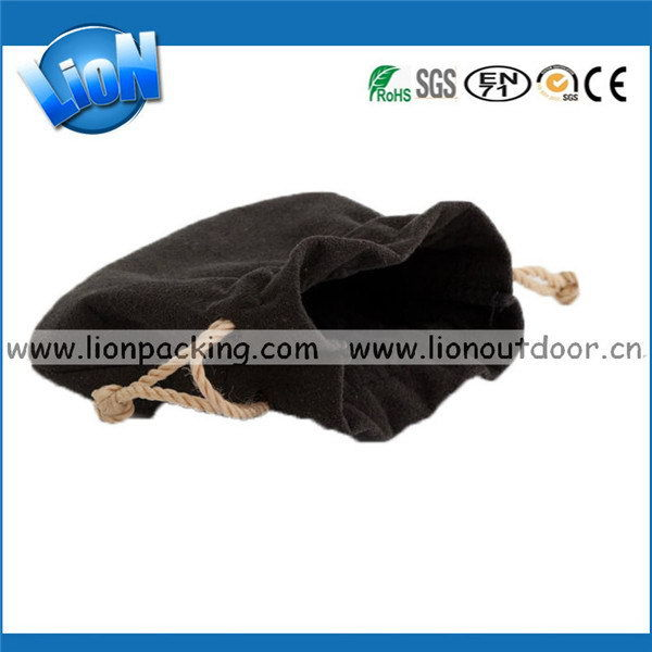Best quality latest cheap custom velvet drawstring pen bag