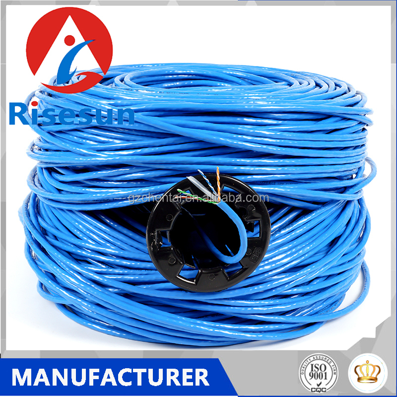 Cat5 Cat 5 Cat6 6 Cable Roll Utp Computer Telephone 4 2 Pair 1000ft 300 Meter Price Network Wire Lan Amp Copper Indoor Ftp Cat5e
