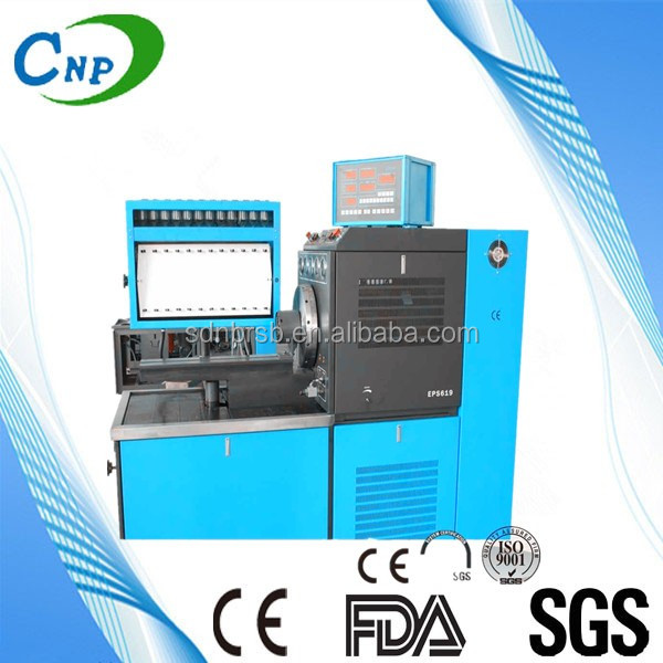 EPS 619 diesel fuel injection pump test bench diesel injector pump service machine