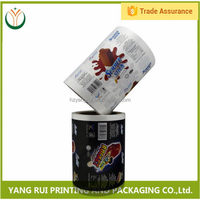 China factory Best-Selling food safe automatic packaging roll film,plastic film roll,al printed packaging film rolls