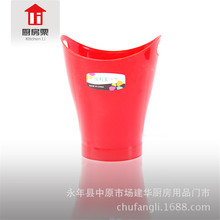 Household Desktop Trash Can Colorful Decorative Waste Paper Basket Plastic mini trash can