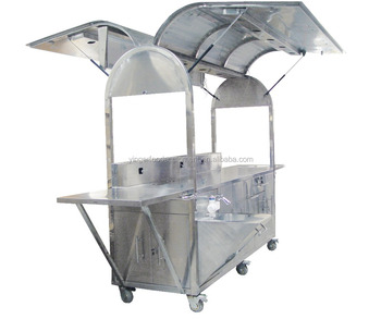 Commercial New Design Fast Food Trailer