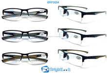 2014 Wholesale New Style Wenzhou Fashion Design Unisex Hot trendy 2 color injection Sports reading glasses (BRP3054)