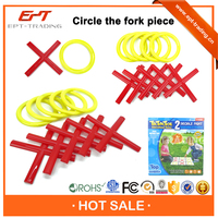 Funny chess game tic tac toe game pieces for selling