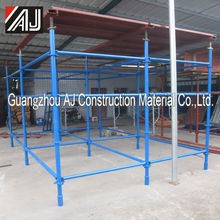Guangzhou factory easy used scaffolding scrap for sale