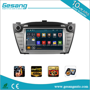Android 6.0 car dvd player for HYUNDAI TUCSON/ix35 (2009-2013) with bluetooth gps and Internet option