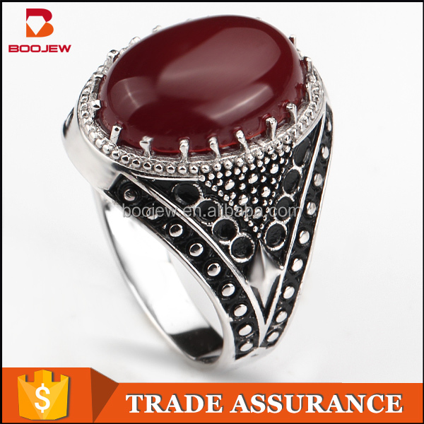 fashion wholesale moroccan engraved silver ring jewelry import jewelry from china