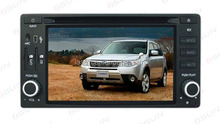 NEW HOT Double Din 7'' touch screen GPS Bluetooth TV PIP IPod 3D UI double din car dvd with gps forester car dvd