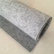 Manufacturers selling white needle felt cloth density to ensure the quality of needle punched nonwoven fabric