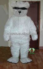 HI CE bear with eyeshade mascot costume