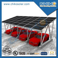 Ground Solar Panel Racking Aluminium Carport with Pile