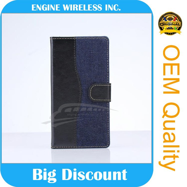factory wholesale flip case for sony xperia m
