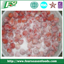 Frozen strawberries with sugar new crop chinese golden supplier high quality