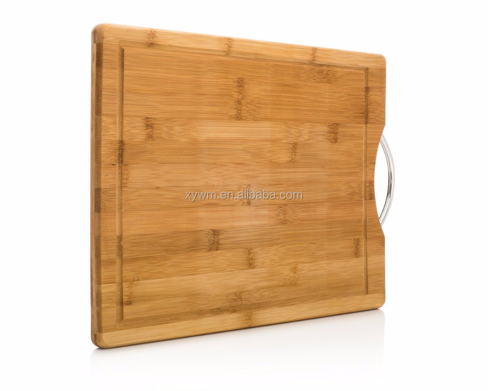 TF076/ Drawer Cutting Board with Skid Resistance Color Silicon Edge and Handle