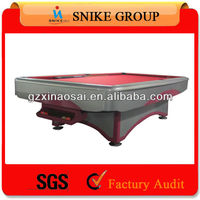 2015 new arrival 9ft Solid Wood Slate Billiard Table best for villa only our factory produce