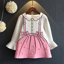 Low price latest dress designs goods fashion model dresses for children clothes A038