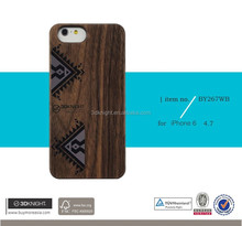 New Products 2016 For iPhone 6s Case, wood+PC Case For iPhone 6s Mobile Phone Cover