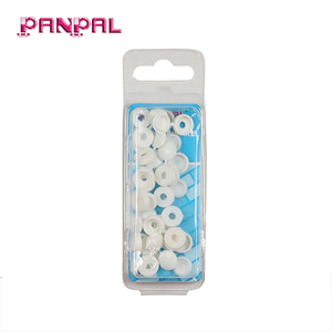 Factory outlets white plastic head caps decorative screw cover