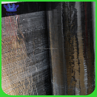 2015 Newest waterproof paper roofing felt with self-adhesive stripe