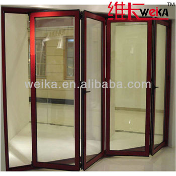 made in China modern PVC folding door design