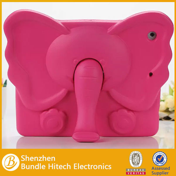 EVA Shock Proof elephant nose Silicone Gel Cover Case For iPad 2.3.4