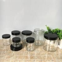 2oz 4oz 6oz 8oz glass mason jar with lids