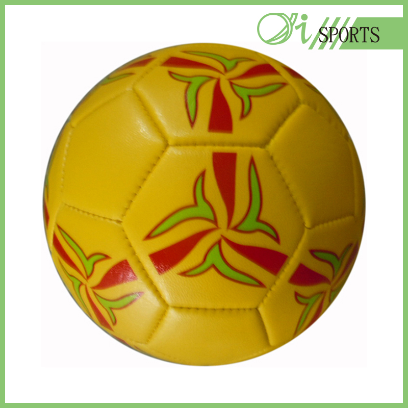 Real leather tpu retro soccer ball