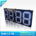 outdoor led screen gas price signage\outdoor digital signage\gas station digital signage
