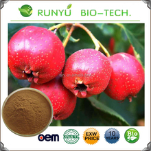 Free sample 100% Natural Hawthorn berry juice extract flavones Powder Hawthorn fruit P.E.