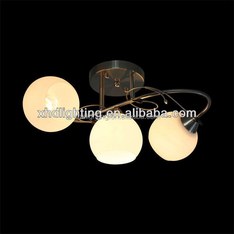 glass ball pendant lamp E27 hanging chandelier wholesale