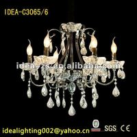2012 amazing crystal chandelier lighting for christmas party decoration