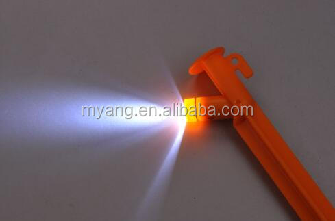 15cm 20cm Led tent peg ground ped camping light