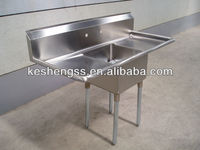 commercial stainless steel hotel/restaurant kitchen sink faucet