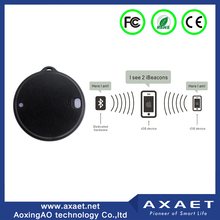 Bluetooth extended outdoor waterproof eddystone beacon sticker for position locate