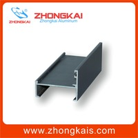 Customized shape Shape and 6000 Series Grade Awning Window Profile Aluminum Extrusion Frame
