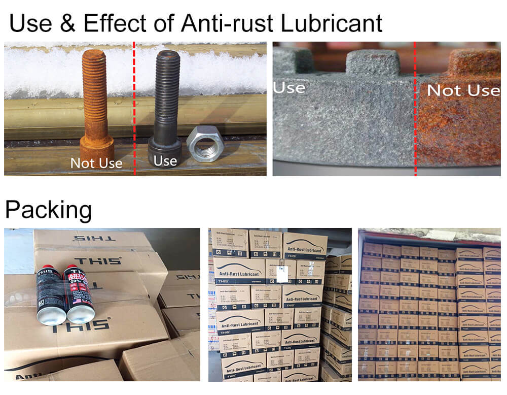 NEW & Free Sample Anti Corrosion and Anti Rust Aerosol Spray Super Silicone Chain Lube