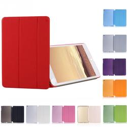 Luxury Ultra Slim Magnetic Smart Flip Stand PU Leather Cover Case For iPad Mini 1 2 3 Retina intellectual dormancy case