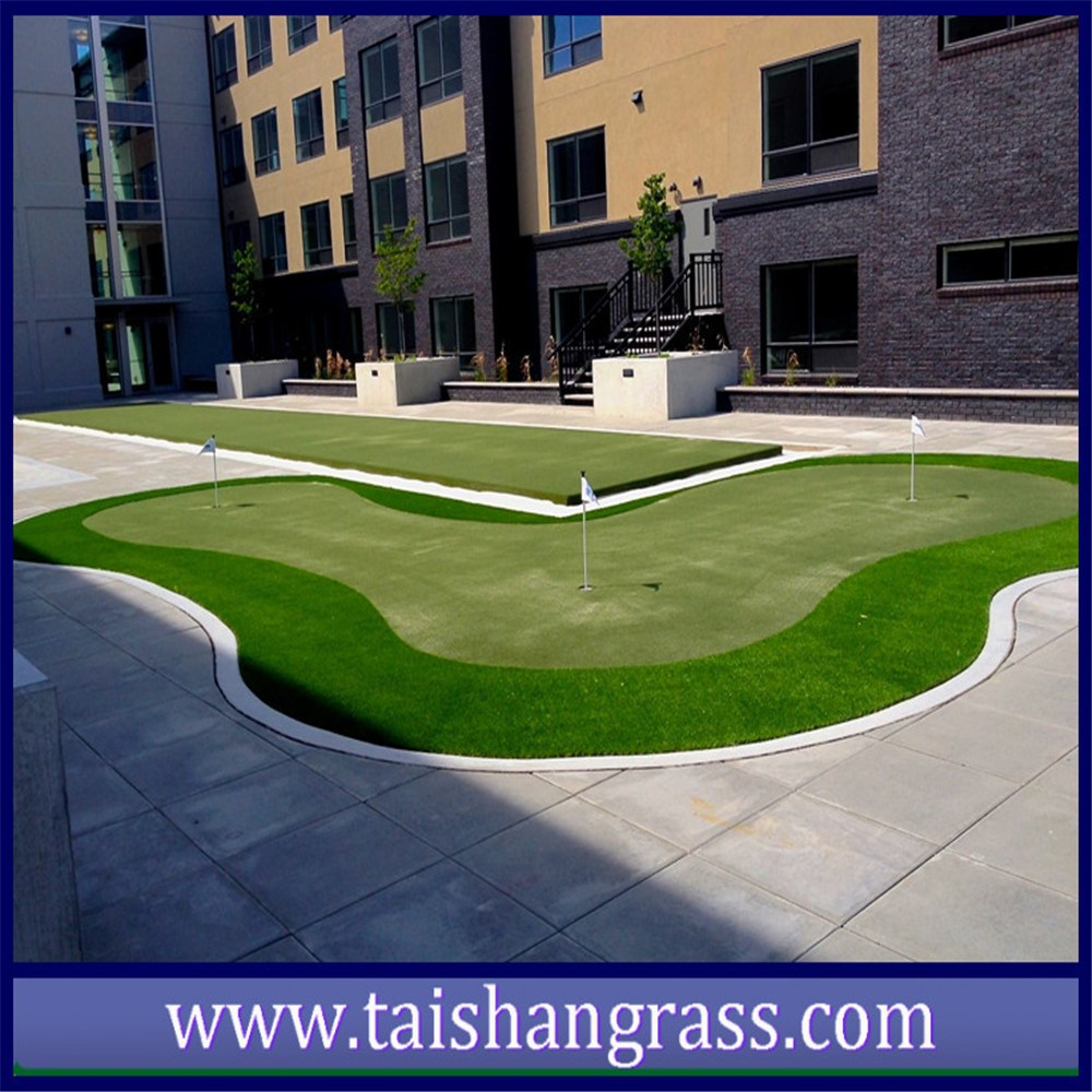 PU backing,Stem fiber Artificial Grass for landscaping,garden or football, CE,ROHS,ISA,LABORSPORT,ISO9001,ISO14001