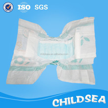 Quanzhou OEM fit breathable colored clothlike film baby diapers plant