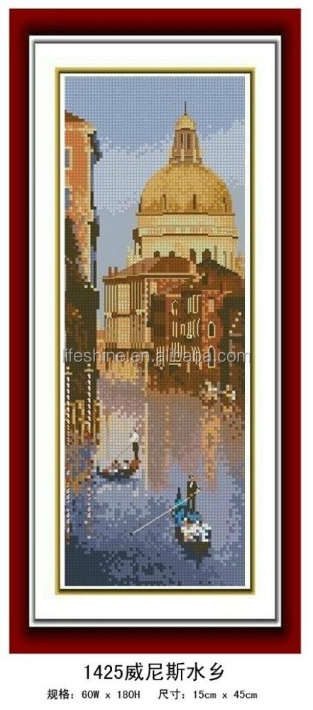 """The Venice water world "" Full Diamond Painting"