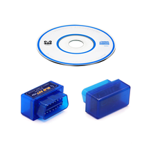 Mini ELM327 OBD2 V1.5 25K80 Program Car Bluetooth Scanner Android Torque Auto Scan Tool