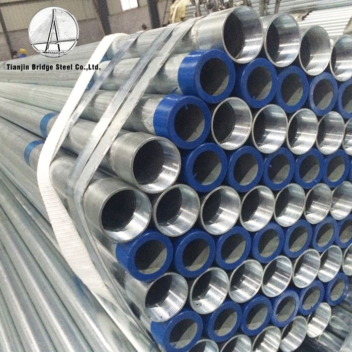<strong>Q195</strong> Hot Rolled Hollow Size Chart Galvanized Welded Steel Pipe