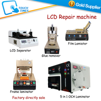Mobile LCD Glass Refurbishing Machine with Latest Models Full Set, No need Pump or Compressor for Iphone Samsung Sony LCD Repair