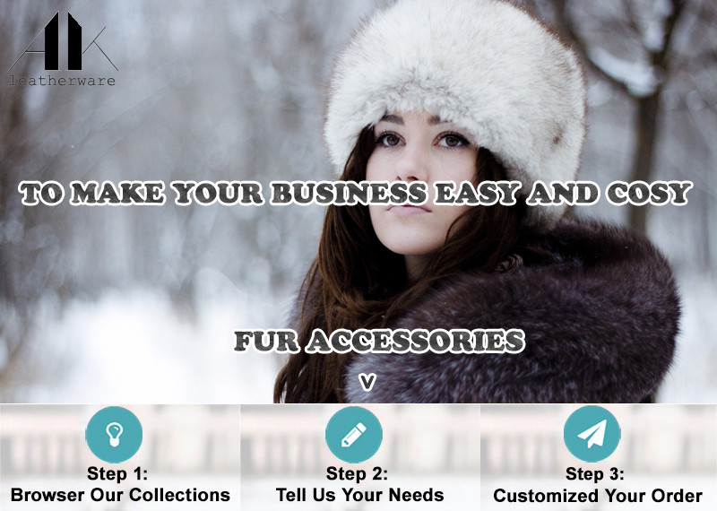 Fluffy Fox Fur Hood Infinity Collar Scarf for Winter Coat