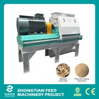 ZTMT 4-7 Ton Per Hour wood crusher / wood crushing machine with CE
