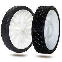 6 inch pvc wheels with a lid for trolley handle luggage, bassinet