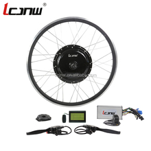 DIY 28 inch 1000w cassette electric bicycle hub motor conversion kit for sale JNW-23-LCD