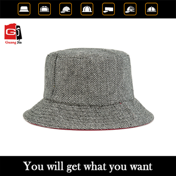 Professional manufacturer custom new design comfortable plain bucket hat wholesale